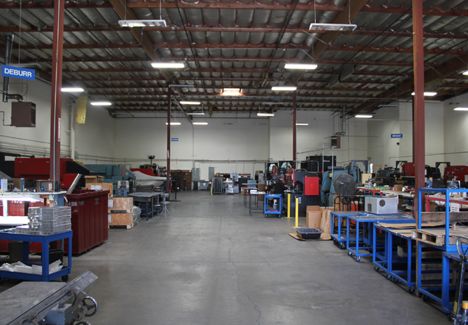 Land Metal Metal Fabrication Warehouse