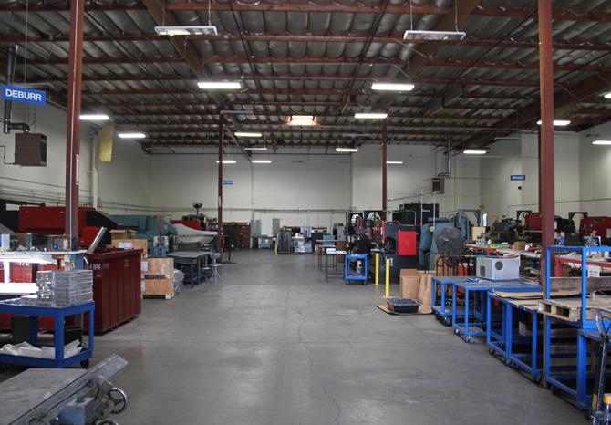 Land Metal Metal Fabrication Warehouse